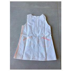 Baby Dior-Robes-Rose,Blanc