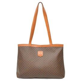Céline-Céline Macadam Shoulder Bag-Other