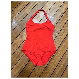Hermès-Swimwear-Red