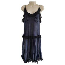 Balenciaga-Robe de cocktail en jersey de soie-Noir