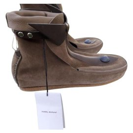 Isabel Marant-Ankle Boots-Brown