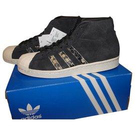 Adidas-Adidas promodel W-Gris