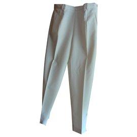 inconnue-Pantalons, leggings-Blanc