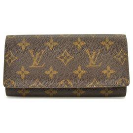 Louis Vuitton-Louis Vuitton Long Wallet-Brown