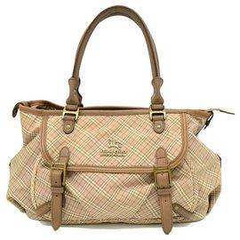 Burberry-Burberry handbag-Brown