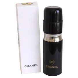 Chanel-CHANEL Stainless Steel Thermos Tumbler-Black