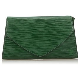 Louis Vuitton-Louis Vuitton Pochette Art Déco Vert Epi-Vert