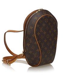 Louis Vuitton-Louis Vuitton Sac à dos Ellipse monogramme brun-Marron