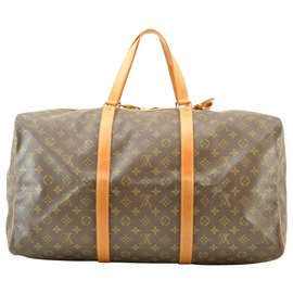Louis Vuitton-Louis Vuitton Sac souple 55-Marron