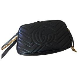 Gucci-Marmont petite taille-Noir