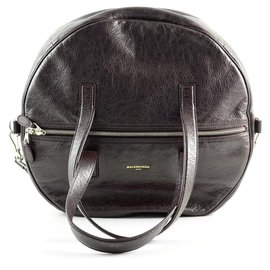 Balenciaga-Balenciaga handbag new-Brown
