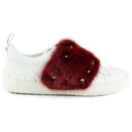 Valentino Garavani-Chaussures Valentino nouvelles-Blanc