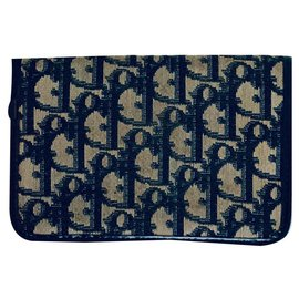 Christian Dior-Purses, wallets, cases-Navy blue