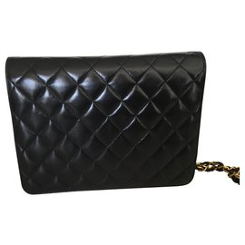 Chanel-Classic timeless Chanel bag-Black