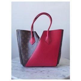 Louis Vuitton-LOUIS VUITTON KIMONO MM MONOGRAM-Red