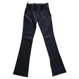 Gucci-Pantalon noir taille basse-Noir