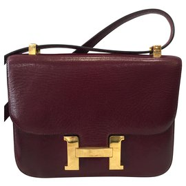 Hermès-Constance-Dark red