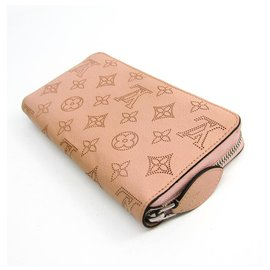 Louis Vuitton-Louis Vuitton Pink Mahina Zippy Wallet-Pink