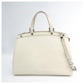 Louis Vuitton-Louis Vuitton White Epi Brea GM-White