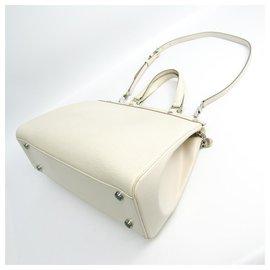 Louis Vuitton-Louis Vuitton White Epi Brea, GM-Blanc
