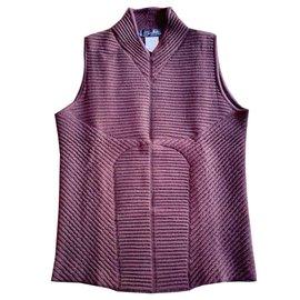 Thierry Mugler-Camisola de alças anatômica do camisola do chocolate (samall)-Chocolate