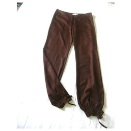 Paul & Joe-Pantalons, leggings-Marron