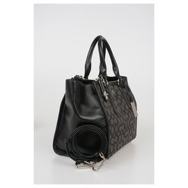 Coach-Coach  monogram bag new-Black