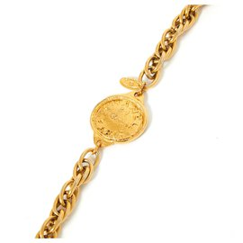 Chanel-NECKLACE CAMBON-Golden