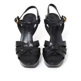 Yves Saint Laurent-TRIBUTE BLACK LOW FR40-Noir
