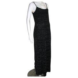 Anna Sui-Silver evening gown-Silvery,Dark grey
