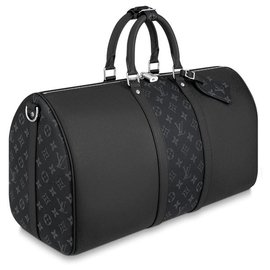 Louis Vuitton-Keepall Taigarama-Black