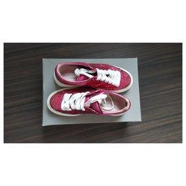 Alexander Mcqueen-sneakers-Rose,Autre