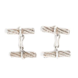 Hermès-SILVER ROPE-Silvery
