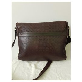Guess-Bags Briefcases-Dark brown