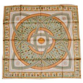Hermès-DONNER la MAIN-Multicolore