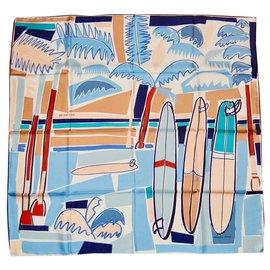 Hermès-SEA SURF and FUN-Multicolore
