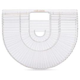 Cult Gaia-CULT GAIA clear Ark acrylic tote bag-Other