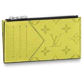 Louis Vuitton-Louis Vuitton card holder-Yellow