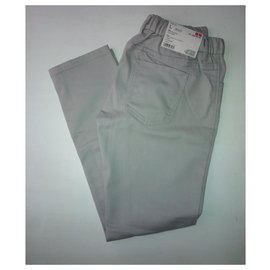 Uniqlo-Pantalons, leggings-Gris