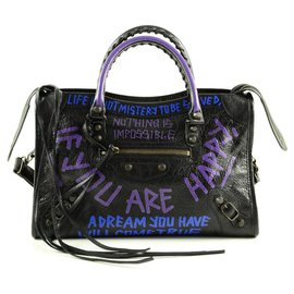 Balenciaga-Balenciaga City Bag-Black