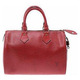Louis Vuitton-Louis Vuitton Speedy 25-Rouge