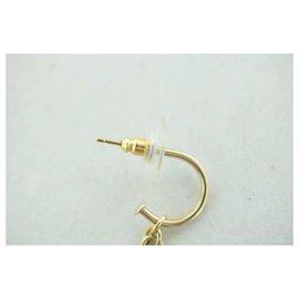 Chanel-Chanel Earrings-Golden