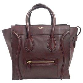 Céline-Céline Mini Luggage-Red