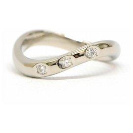 Mikimoto-Mikimoto Diamond Ring-Silvery
