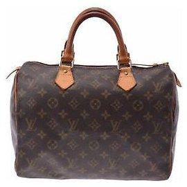 Louis Vuitton-Louis Vuitton Speedy 30-Marron