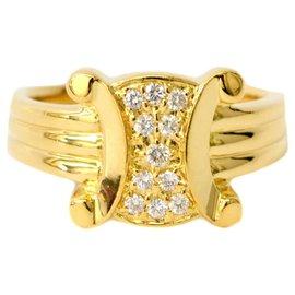 Céline-Céline Diamond Ring-Yellow