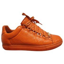 Balenciaga-Formateurs Orange Arena-Orange