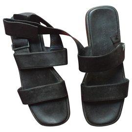 Louis Vuitton-sandals man vuitton-Black