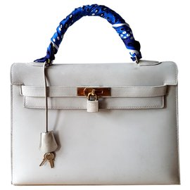 Hermès-Handbags-Grey