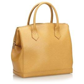 Fendi-Fendi Brown Leather Satchel-Brown,Light brown